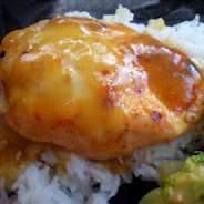 apricot honey chicken