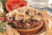 bacon bleu stuffed burger