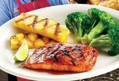 chipotle citrus salmon fish dinner meal