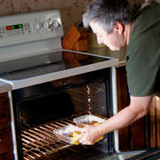 fast food cooking in oven