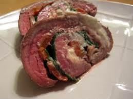 greek flank steak