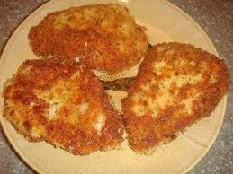 parmesan crusted pork chop meal