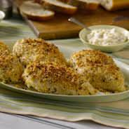 parmesan herb chicken dinner