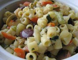 pasta vegetable salad