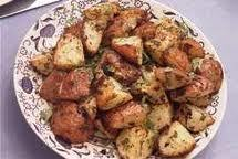 Roasted Spring Potatoes Food