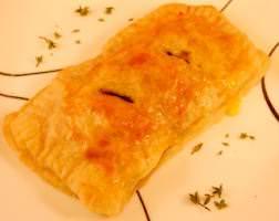 spinach chicken strudel meal