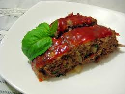 sundried tomato meatloaf with red currant sauce